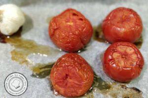 tomate y ajo escalivado