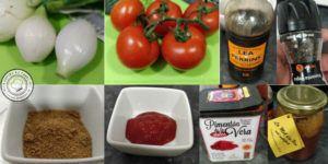 Ingredientes Salsa Barbacoa y Miel