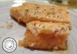 Detalle Punto de cocción salmon