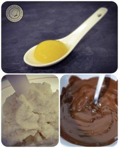 Espuma, esferificación y chocolate