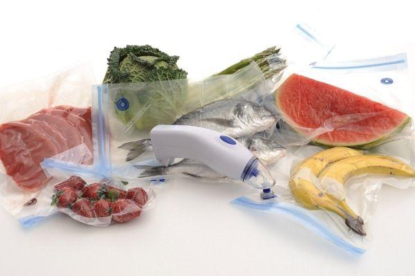 como usar la envasadora para las bolsas de vacío reutilizables freshco