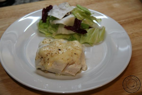 Merluza a baja temperatura con mayonesa de limón