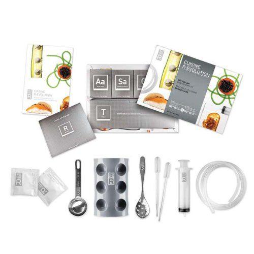 Utensilios del Kit de cocina molecular